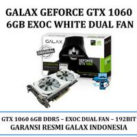 VGA GALAX Geforce GTX 1060 6GB DDR5 EXOC (EXTREME OVERCLOCK) White