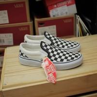 Sepatu Vans Slip On Slop Checkerboard Catur Kids/Anak Import Premium