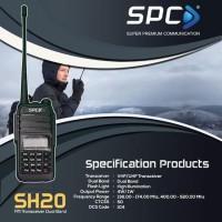 Handy Talkie SPC HT SH 20 Dual Band 5W waterproof