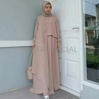 Baju Gamis Wanita Murah Mizza dress CC