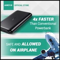 Pertama Di Indonesia - Aukey Powerbank 10.000 Mah Slim & Elegant