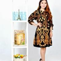 baju batik blous tunik ilalang rumput pakaian batik wanita baju blous