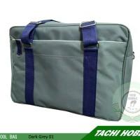 Japan School Bag Grey 01 - Tas Sekolah Jepang