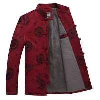 Kemeja Cheongsam Jaket Premium Murah Baju Imlek Kostum China Merah