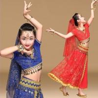 INDIA BELLY DANCE costume haloween kostum anak baju nari tari perut 2
