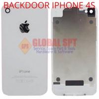 BACKDOOR BACK DOOR COVER TUTUP BELAKANG IPHONE4S IPHONE 4S ORI NEW