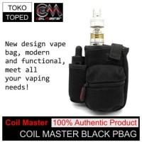 Authentic Coil Master PBag | BLACK | vapor bag tas rda vaporizer