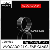 [AN] Replacement CLEAR Glass for AVOCADO 24 RDTA GeekVape | rda rta