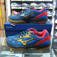 Sepatu Voli Volley Volli Volly Mizuno Cyclone Speed 2 GL Blue Original