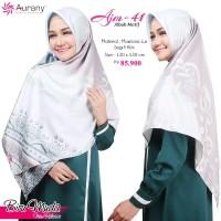 Aurany Jilbab Motif / AJM 41/ Jilbab Segi Empat Klim