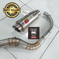 Knalpot CLD Fullsystem CBR150 R15 Vixion Sonic Satria Cb150 GSXR150