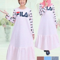 baju muslim anak perempuan fila