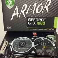 MSI Geforce GTX 1060 6GB DDR5 - Armor 6G OC V1