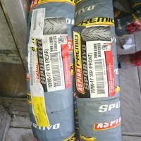 Paket 1 pasang ban motor bebek ceper 70/80 80/80 17 Sportivo tubeless