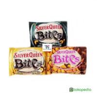 Silver Queen / Silverqueen Bites 40 Gram . Cokelat / Coklat Valentine