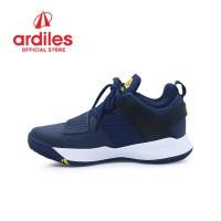 Ardiles Men AD1 Abraham Sepatu Basket - Biru Navy Kuning