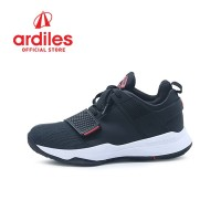 Ardiles Men AD1 Abraham Sepatu Basket - Hitam Merah