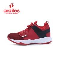 Ardiles Men AD1 Abraham Sepatu Basket - Merah Putih