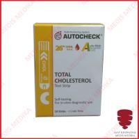 Autocheck Kolesterol Cek Test Strip Cholesterol Refill Isi 10 Strips