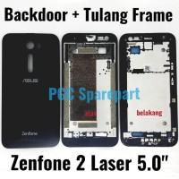 Backdoor + Tulang Frame Zenfone 2 Laser 5 Z00RD Z00ED ZE500KL ZE500KG