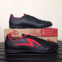 Sepatu Futsal Specs Ricco Black Emperor Red 400802 Original BNIB