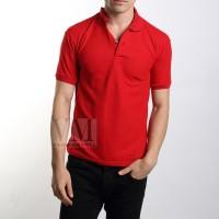 VM Kaos Polo Shirt Edisi Imlek Merah Maroon
