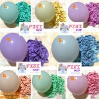 Balon Latex Doff Pastel / Balon Karet Doff Macaron 12 inch