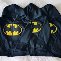 Jaket Anak SML Model Batman