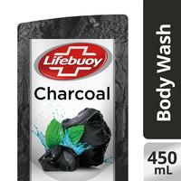 Lifebuoy Sabun Cair Charcoal Refill 450mL