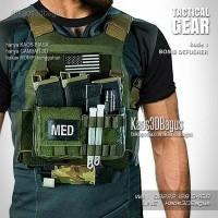 Kaos 3D Rompi Tactical   Airsoft Paintball Militer Army Tentara