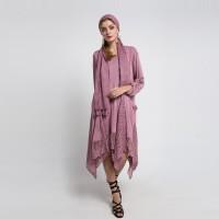 Wakhra Swag - Felicity Bohemian/Boho Dress dengan Aplikasi Brukat