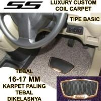 Karpet Mobil SS Basic Honda Brio / Brio Satya 2baris Luxury Heelpad