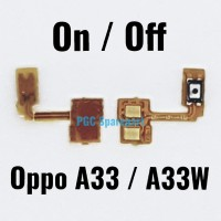 Original Flexible Connector Power On Off Oppo Neo 7 A33 A33W Fleksibel