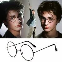 Kacamata Harry Potter John Lennon Bulat Korea Replika Cosplay