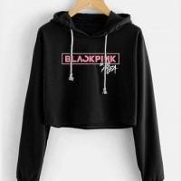 Baju Sw Crop Blackpink