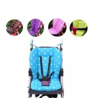 Bantal Duduk Kursi Kereta Bayi Bantal Kapas Tikar Motif Dot - HPR371 - Pink