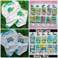 Carter 2pcs Setelan Panjang Baju Tidur Piyama Boy & Girl