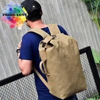 Tas Ransel Pria Bodypack Outdoor Kanvas / Tas Backpack Punggung - TP01
