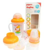 Pigeon MagMag All in One Set Training Cup 3+ Month Gelas Bayi Mag Mag
