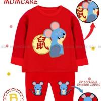 MC35 #B - Mouse sz teen (baju setelan imlek anak remaja import)