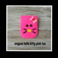 angpao / dompet flanel hello kitty