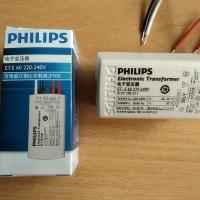 philips adaptor ballast 12 volt untuk led philips lampu sorot mr 16