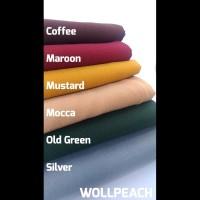 Bahan kain wollpeach wolfis wolvis wolpis Original Premium (ecer /1m)