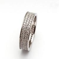 RL 211 - Ring Silver Emas Putih ASLI, Made in Korea-Garansi 6 bulan