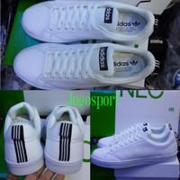 Sepatu Kets Sneakers Adidas Neo Advantage Full White