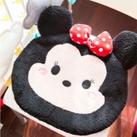 Alas Bantal Duduk Tipis Jok Mobil Kursi Rumah Mickey Minnie Mouse Tsum