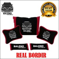 Bantal Mobil BALENO Headrest Mobil Interior KODE 008