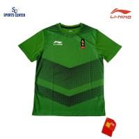 HOT PROMO Kaos Lining OFFICIAL Asian Games 2018 Green ATSN312-5