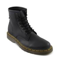 Sepatu Docmart Pria Dr Martens 8hole High Boots Hiking Outdoor Hitam