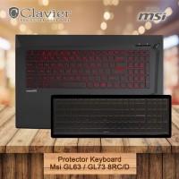 Keyboard Protector Cover Msi GL63 8RC GL63 8RD GL73 8RC GL73 8RD Coosk